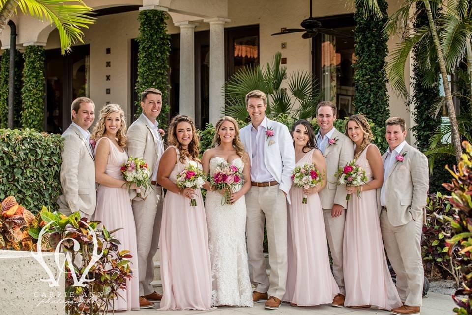 Wedding Party at Portofino Longboat Key Club