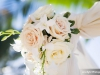 Wedding Canopy Flowers in Cream and Blush
