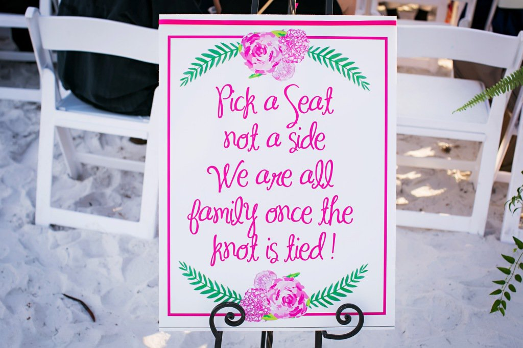 Wedding Aisle Sign