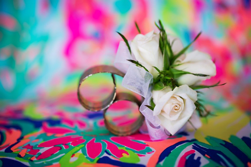 Slap Wrist Corsage with Roses