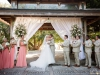 Selby Garden Wedding Pavilion with flowers and draping
