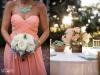 Bridesmaids Bouquet and Table Centerpiece