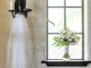 Veil and Bridal Bouquet