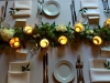 Night Pic with Garland on Feasting Table