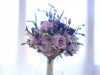 Bridesmaid Garden Look Bouquet in Purple