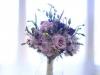 Bridesmaid Garden Look Bouquet in Purple