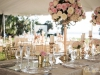 Feasting Head Table with Gold Candleabra