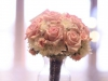 Bridal Bouquet in White Hydrangea and Sophie Pink Roses