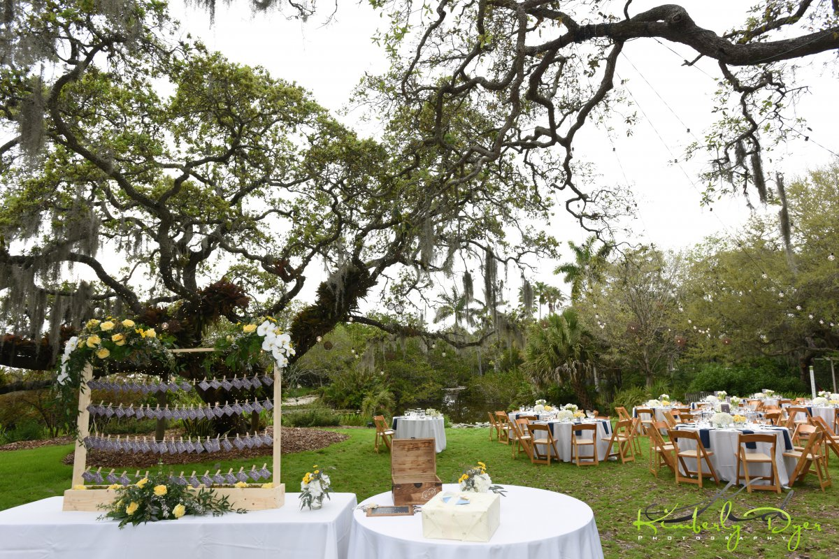 Place Card Table at Selby Gardens