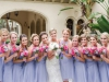 Colorful Garden Like Bridesmaids Bouquets