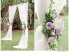Wedding Arch with Lavender Roses