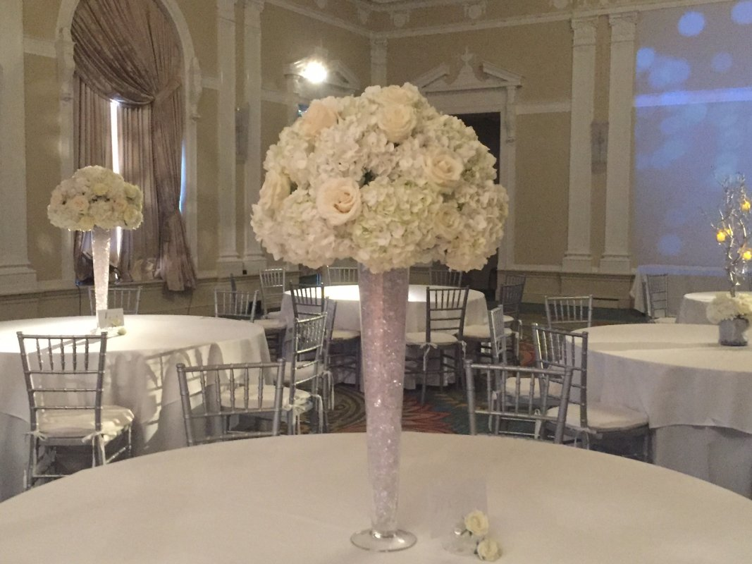 Reception Table Centerpiece