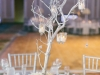 Silver Manzanita Branches with Tea Lights Centerpeice