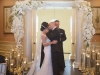 Elegant Arch with Candles at Oaks Country Club