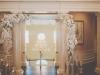 Elegant Arch with Chandelier