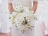 Stunning All-White Bridal Bouquet
