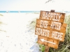 Happily Ever After Sign to the Beach