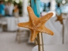 Starfish Detail from Aisle on Ends of Chairs