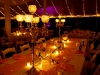 Feasting Table with Bling Candelabras, Destination Wedding, Powel Crosley Estate