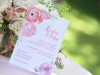 Wedding Invite with Flowers