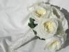 David Austin patients-rose bridal bouquet