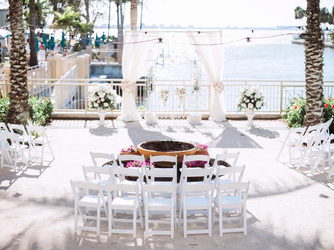 Ritz Carlton Bayview Terrace Ceremony Site