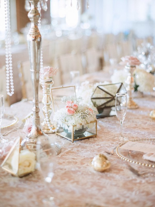 Table Decor, Flowers, and Candles