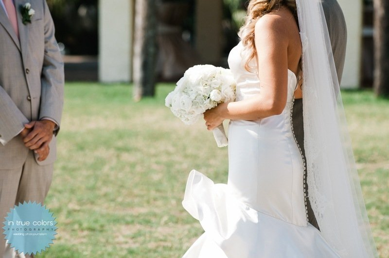 Elegant Bridal Bouquet, Destination Wedding