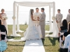 perfect canopy for bride and groom, powel crosely mansion