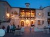 Powel Crosley Estate with lights, destination wedding