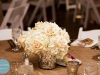 garden look centerpieces in mercury glass