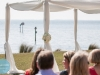 open top canopy for destination wedding, powel crosley estate