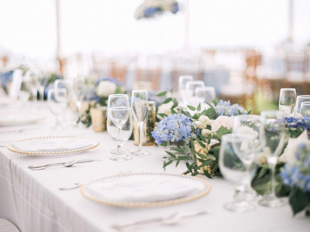 Beautiful Blue and White Boca Grande Wedding | Sarasota Wedding Flowers