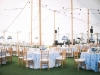 Half Tall Half Low Wedding Centerpieces Blue and White
