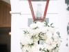 Rose Hydrangea Wreath on Lanterns