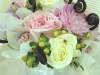 garden-mix-bridal bouquet -fiddlehead-ferns