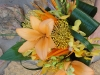 orange-liiles-and-protea-gold-green-orchids