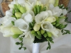 white-freesia-bridal bouquet