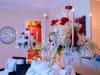 Candelabra arrangement for Christmas
