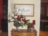 Christmas entry centerpiece