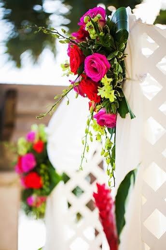 Flowers by Fudgie, The Beach Club Grill, The Ritz Carlton Beach Club Sarasota, Limelight Photography