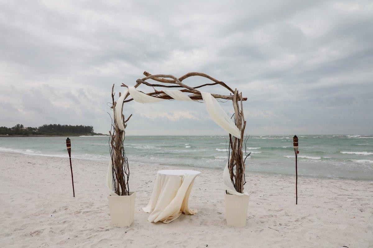 Wedding Arch on the Beach