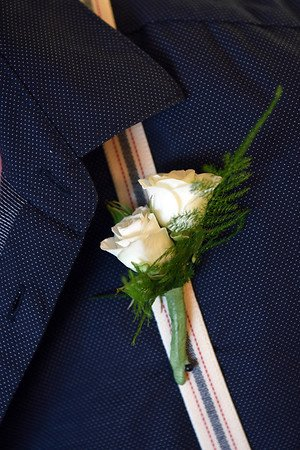 Boutonniere on Suspender