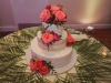 Cake with Palms and Amsterdam Roses