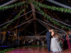 Nightime View of Dance Floor with Garland