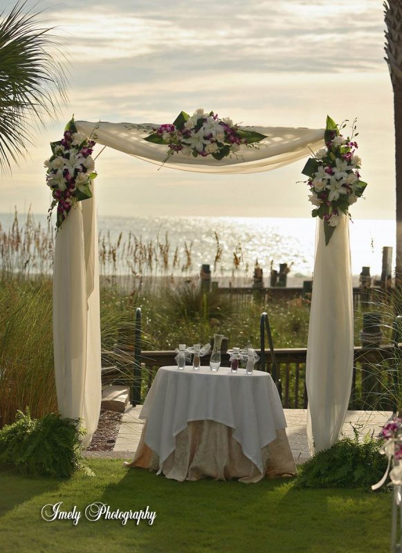Centros on pinterest mesas bodas and wedding arches for Arch wedding decoration ideas