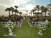 Wedding Ritz Carton-arch and aisle flowers