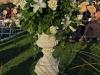 Wedding garden urns