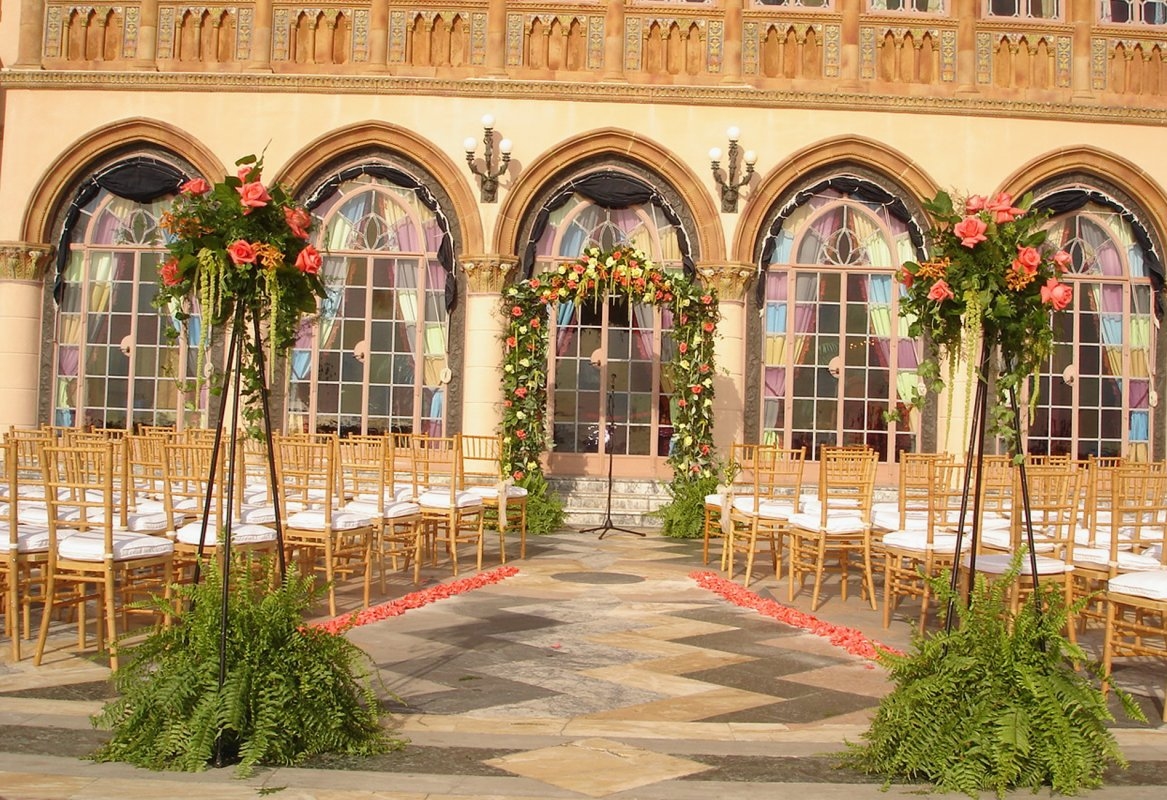 Wedding on cadzan Terrace at Ringling
