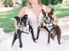 bride-w-dogs-orchid-wreaths-